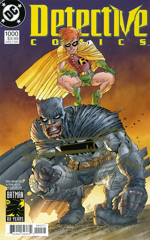 Dynamic Forces Batman Detective Comics #1000 Book