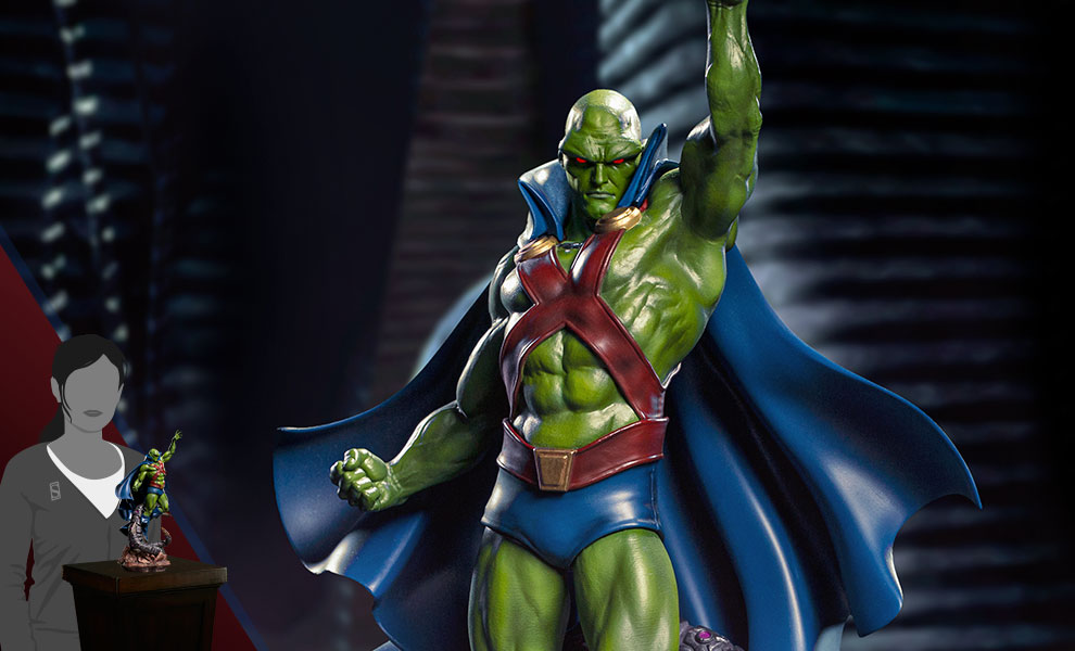 Gallery Feature Image of Martian Manhunter 1:10 Scale Statue - Click to open image gallery