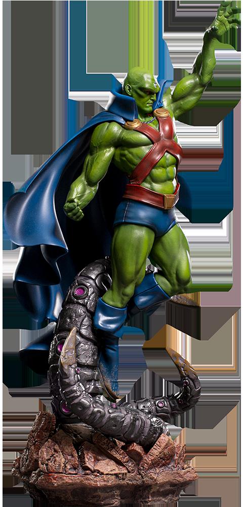 Iron Studios Martian Manhunter 1:10 Scale Statue