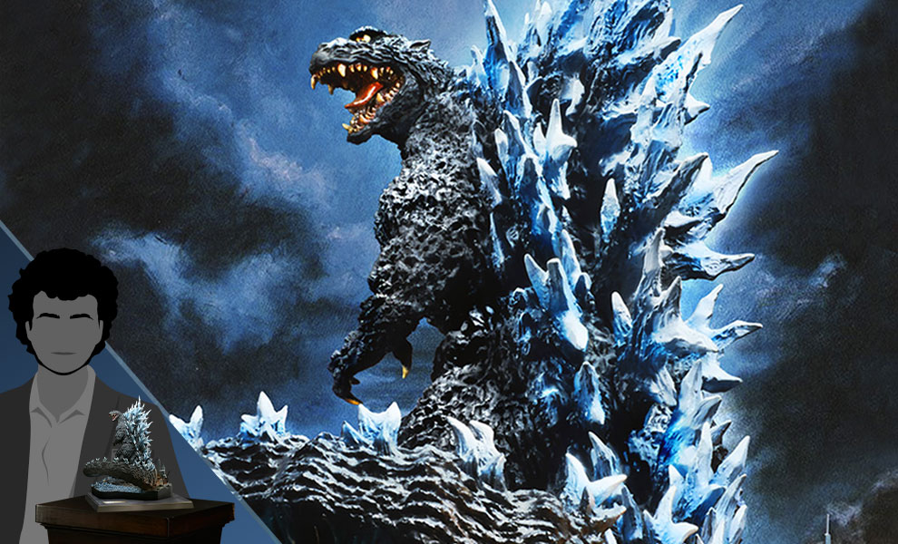 Gallery Feature Image of Godzilla (2004 Poster Version) Collectible Figure - Click to open image gallery