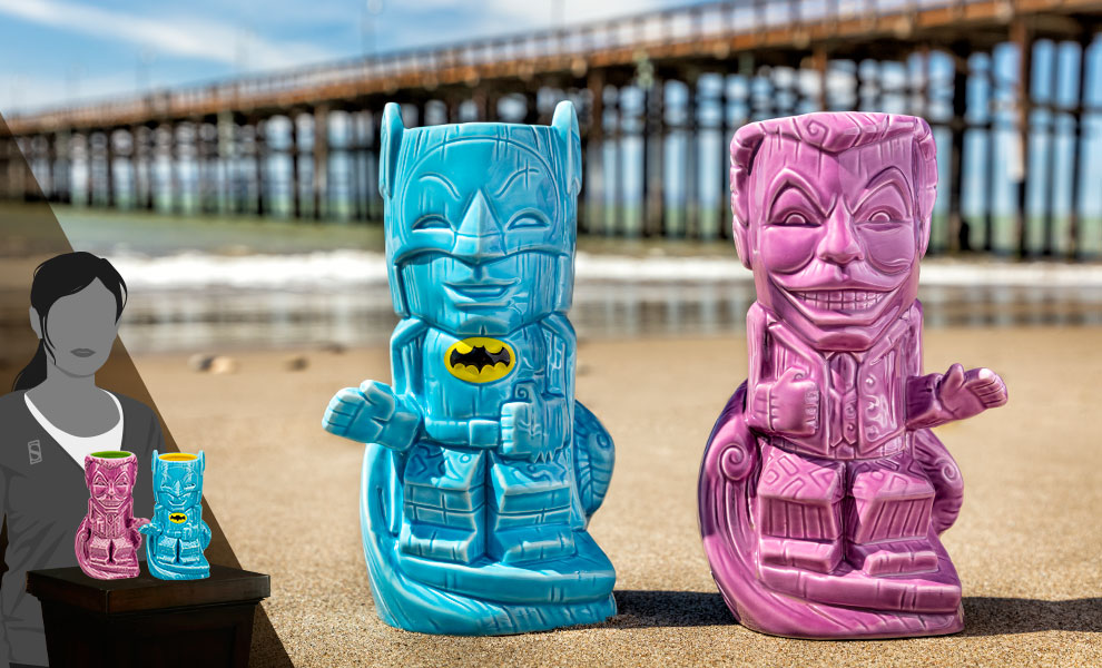 Gallery Feature Image of Batman and Joker '66 Tiki Mug - Click to open image gallery