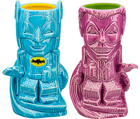 Beeline Creative Batman and Joker '66 Tiki Mug