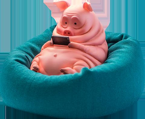 Manas SUM Pig Figurine