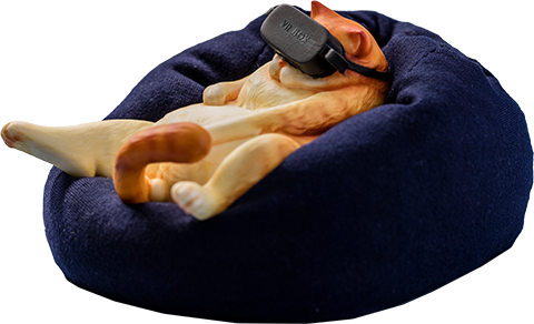 Manas SUM Orange Cat Figurine