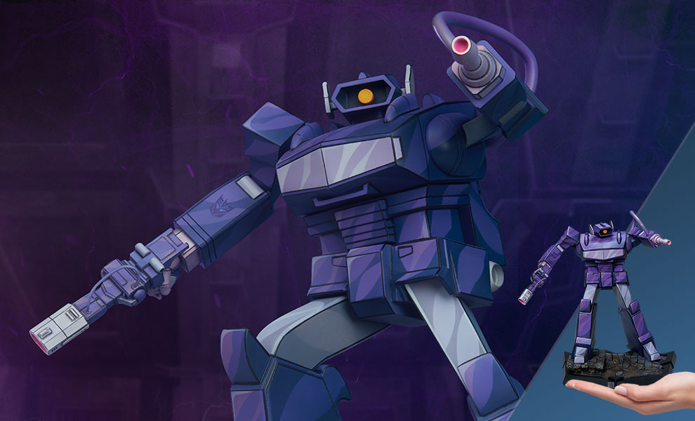 Gallery Feature Image of Shockwave Statue - Click to open image gallery