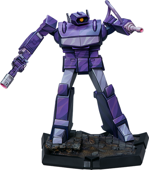 PCS Collectibles Shockwave Statue