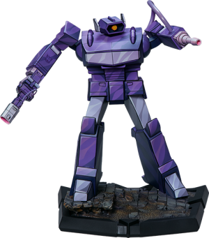 Shockwave Statue