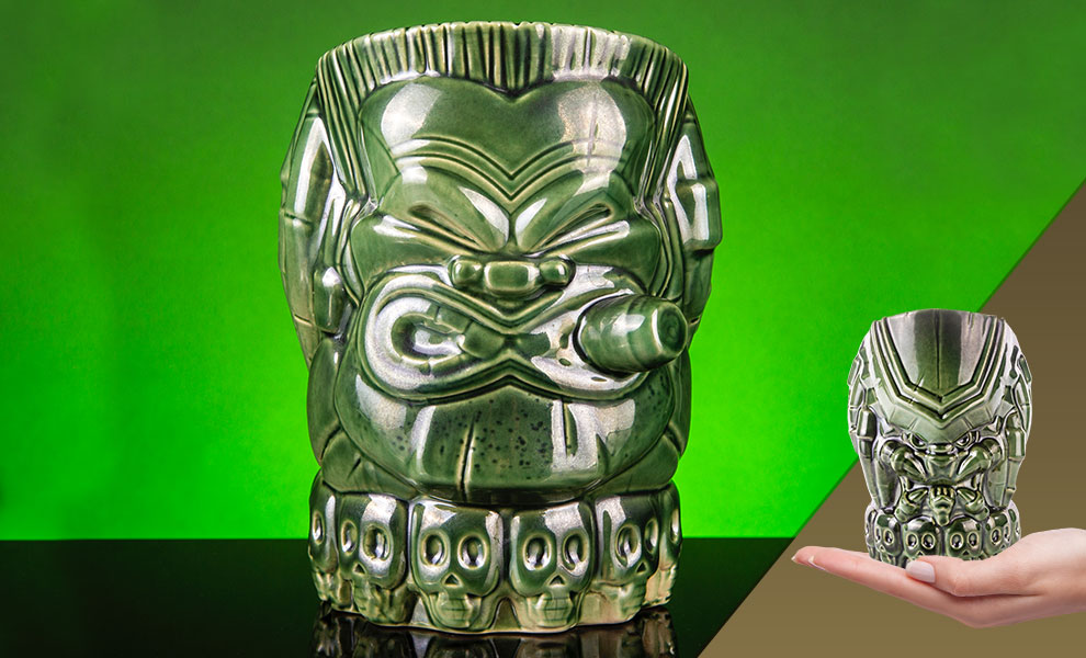 Gallery Feature Image of Predator (Val Verde Variant) Tiki Mug - Click to open image gallery