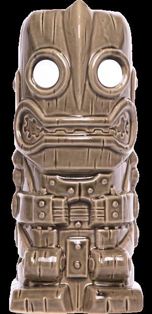 Iron Giant (Grey) Tiki Mug