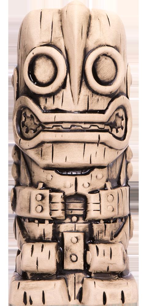Mondo Iron Giant (Bone Variant) Tiki Mug