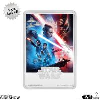 Gallery Image of Star Wars: The Rise of Skywalker Silver Coin Silver Collectible