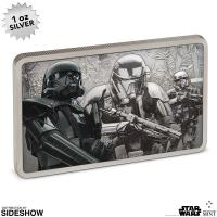 Gallery Image of Death Trooper Silver Coin Silver Collectible