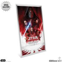 Gallery Image of Star Wars: The Last Jedi Silver Foil Silver Collectible