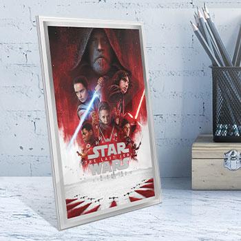 Star Wars: The Last Jedi Silver Foil Silver Collectible