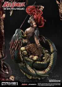 Gallery Image of Red Sonja: She-Devil with a Vengeance Statue