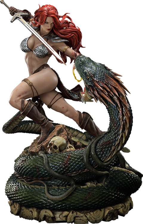 Prime 1 Studio Red Sonja: She-Devil with a Vengeance Statue
