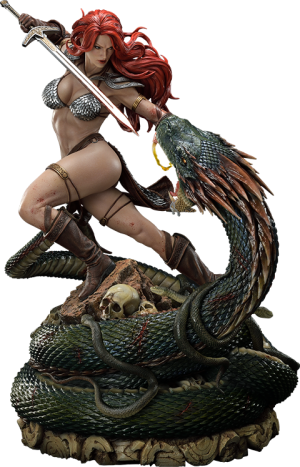 Red Sonja: She-Devil with a Vengeance Statue