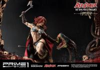 Gallery Image of Red Sonja: She-Devil with a Vengeance Deluxe Statue