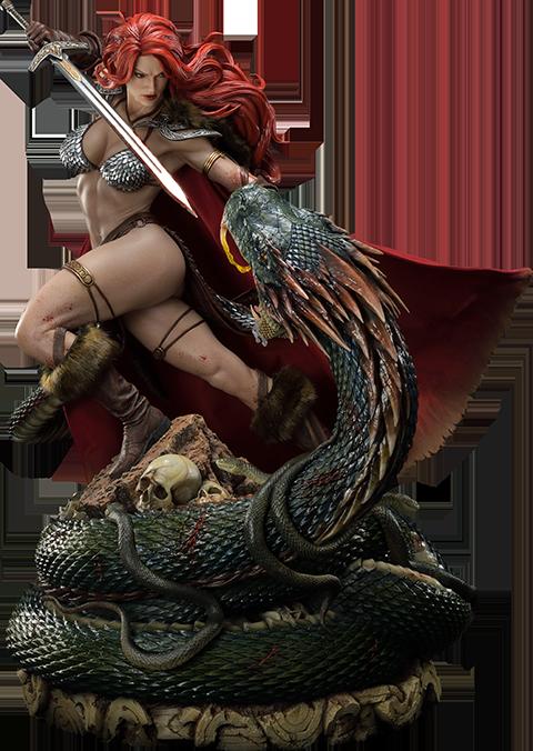Prime 1 Studio Red Sonja: She-Devil with a Vengeance Deluxe Statue