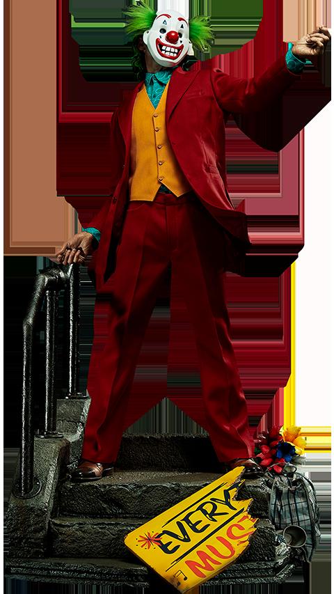 Prime 1 Studio The Joker (Bonus Clown Mask Version) Statue
