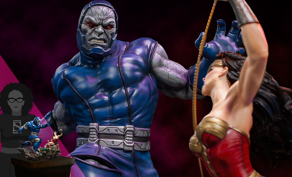 Gallery Feature Image of Wonder Woman Vs Darkseid Sixth Scale Diorama - Click to open image gallery