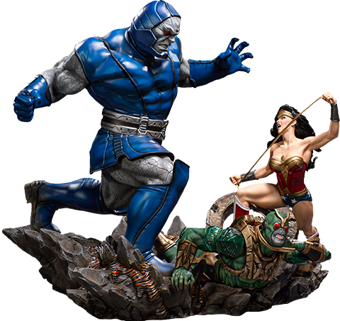 Iron Studios Wonder Woman Vs Darkseid Sixth Scale Diorama