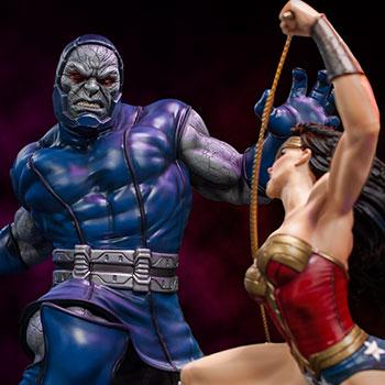 Wonder Woman Vs Darkseid DC Comics Sixth Scale Diorama