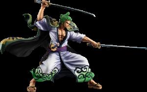 Portrait of Pirates Warriors Alliance Zoro (Zoro Juro) Collectible Figure