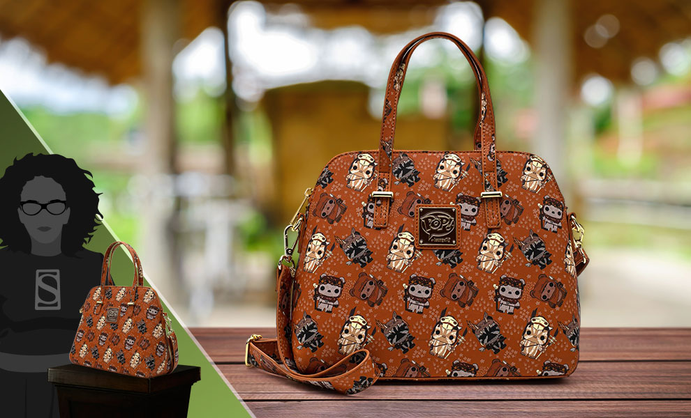 Gallery Feature Image of Ewok AOP Crossbody Apparel - Click to open image gallery