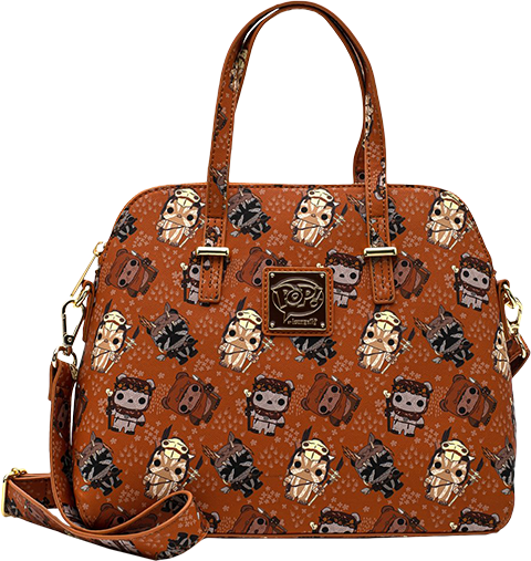 Loungefly Ewok AOP Crossbody Apparel