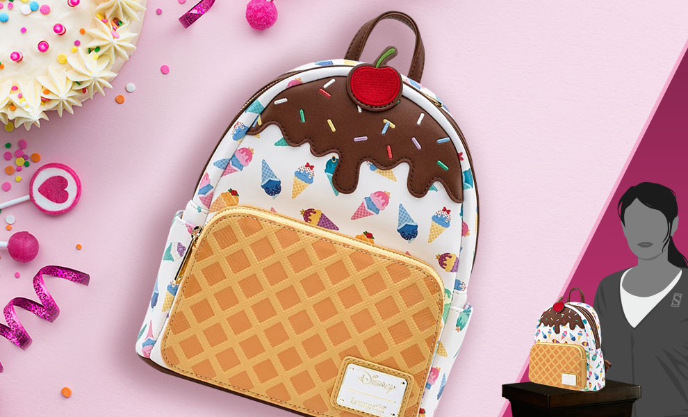 Gallery Feature Image of Disney Princess Ice Cream Cones Mini Backpack Apparel - Click to open image gallery