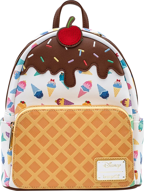Loungefly Disney Princess Ice Cream Cones Mini Backpack Apparel