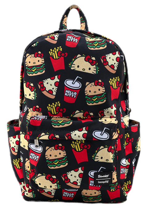 Loungefly Hello Kitty Snacks AOP Backpack Apparel