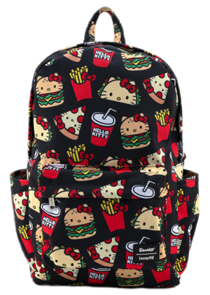 Hello Kitty Snacks AOP Backpack Apparel