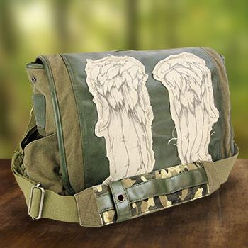 Daryl Wings Messenger Bag (Fatigue Green) Apparel