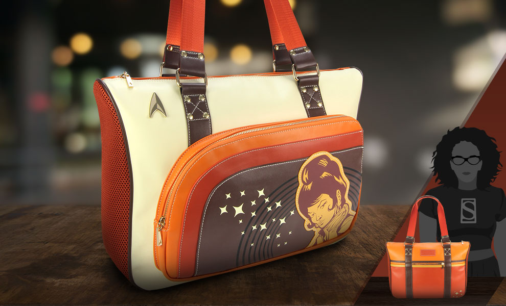 Gallery Feature Image of Uhura Retro Space Tote Apparel - Click to open image gallery