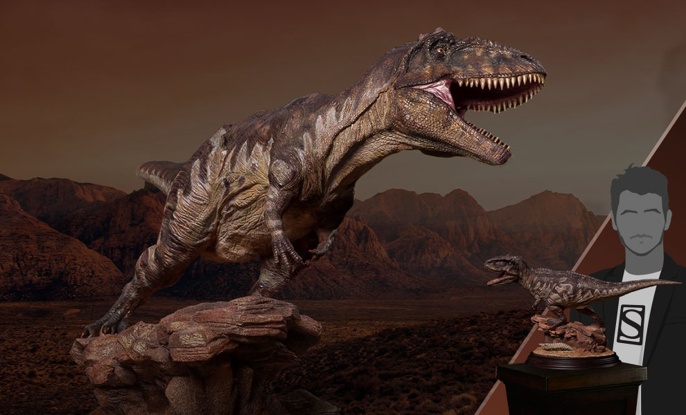 Gallery Feature Image of Giganotosaurus Statue - Click to open image gallery