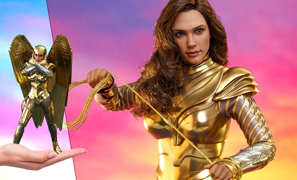 Gallery Feature Image of Golden Armor Wonder Woman Sixth Scale Figure - Click to open image gallery