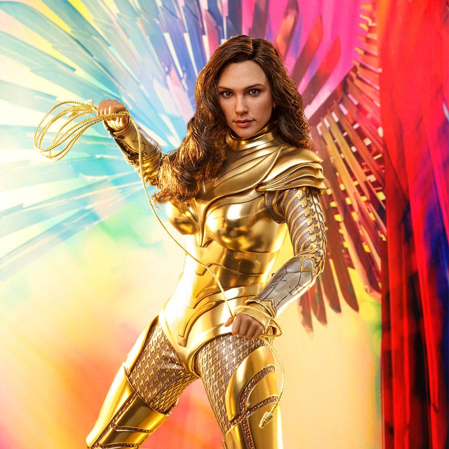 Golden Armor Wonder Woman Sixth Scale Figure