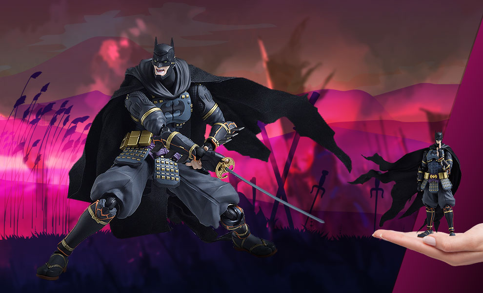 Gallery Feature Image of Batman Ninja Figma Collectible Figure - Click to open image gallery