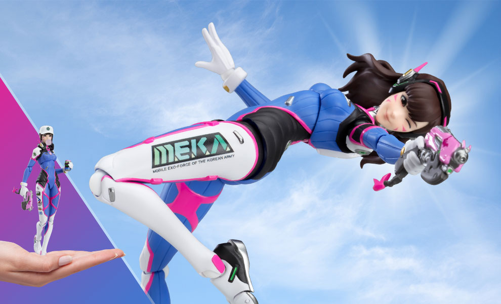 Gallery Feature Image of D.Va Figma Collectible Figure - Click to open image gallery