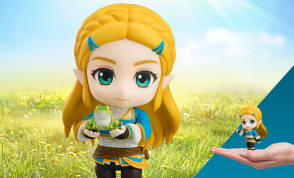 Gallery Feature Image of Zelda: Breath of the Wild Version Nendoroid Collectible Figure - Click to open image gallery
