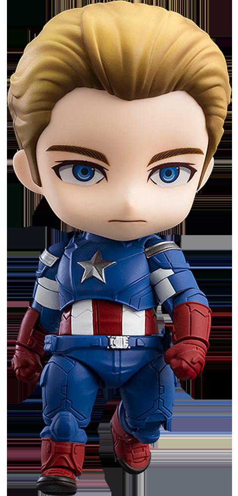Good Smile Company Captain America: Endgame Edition DX Version Nendoroid Collectible Figure