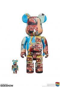 Gallery Image of Be@rbrick Jean-Michel Basquiat #6 100% and 400% Collectible Set