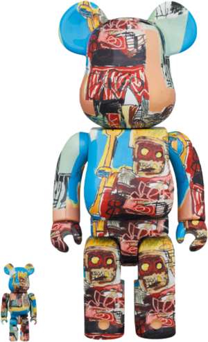 Be@rbrick Jean-Michel Basquiat #6 100% and 400% Collectible Set