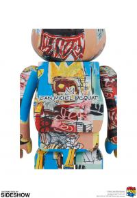 Gallery Image of Be@rbrick Jean-Michel Basquiat #6 1000% Collectible Figure
