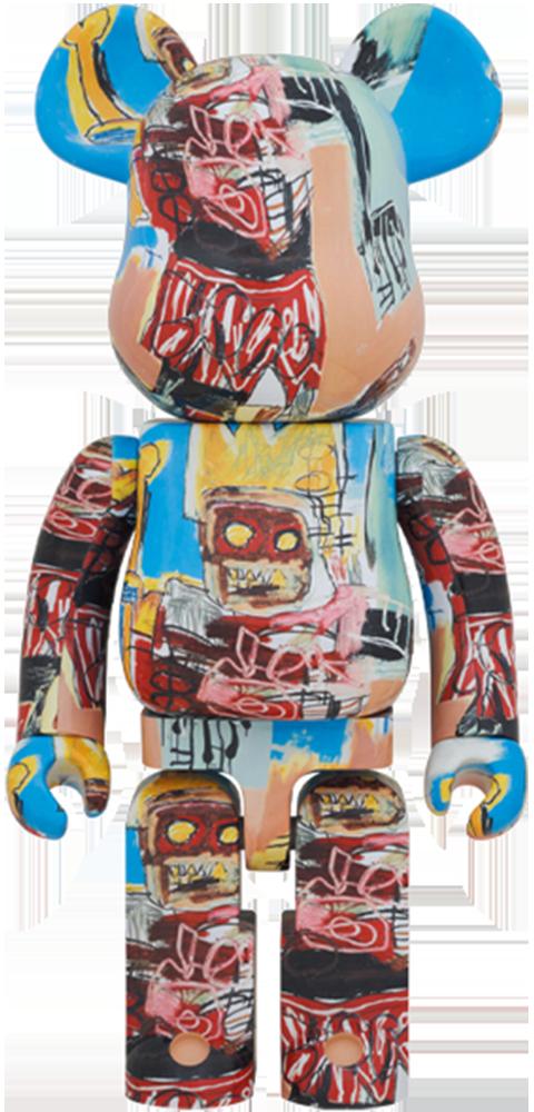 Medicom Toy Be@rbrick Jean-Michel Basquiat #6 1000% Collectible Figure