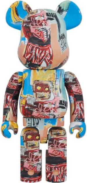 Be@rbrick Jean-Michel Basquiat #6 1000% Collectible Figure