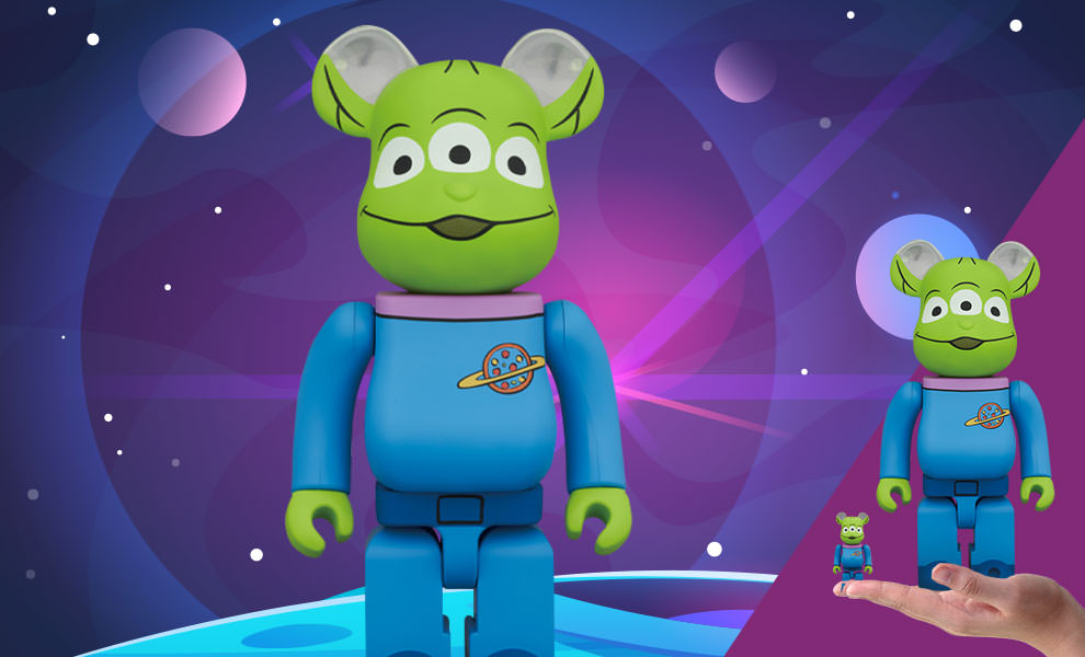 Gallery Feature Image of Be@rbrick Alien 100% and 400% Bearbrick - Click to open image gallery
