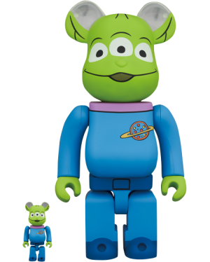 Be@rbrick Alien 100% and 400% Collectible Set